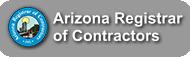 Arizona Registrar of Contractors Badge